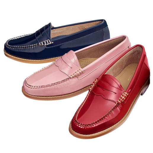 "G. H. Bass Penny Loafers ""Weejun"" - Original penny loafers. The ""Weejuns"" by G. H. Bass & Co. from Maine/USA."