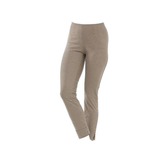 "Seductive Pull-On Trousers ""Sabrina"", Cream/Brown A proven success for more than 10 years. And it's still a hot fashion trend. Seductive ""Sabrina"""