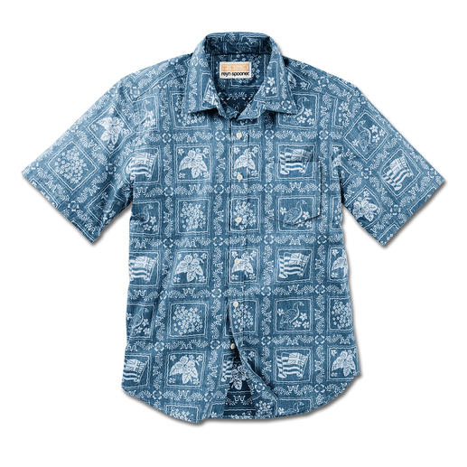 "Reyn Spooner Hawaiian Shirt ""Lāhainā Sailor"" You should buy your Hawaiian shirt on Hawaii. Or ..."