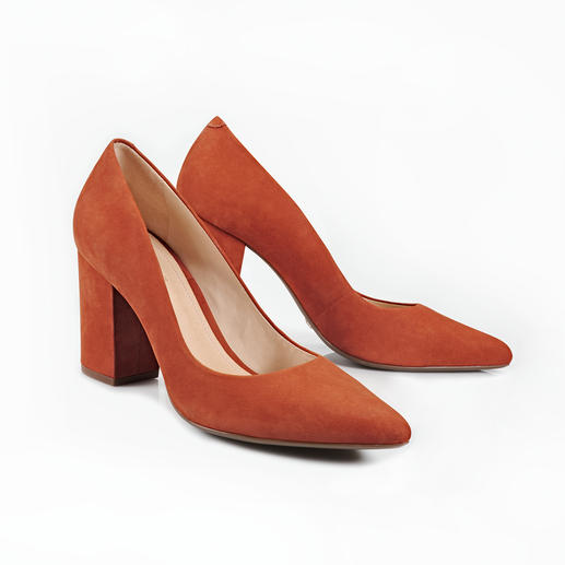 Schutz Block Heel Pumps Trendy. Wearable. Affordable: The Block Heel Pumps by Schutz.