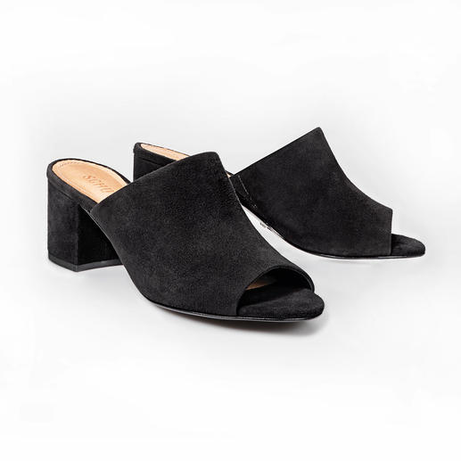Schutz Mules The classic mule is back: More elegant and comfortable than ever. And at a wallet-friendly price.