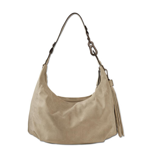 "Suri Frey Hobo Bag ""Stone"" Elegant and as soft as leather. Fashionable hobo bag at a very comfortable price."