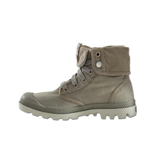Palladium Canvas Boots Enduring design. Indestructible quality. Cult status since 1947. Now hot and fashionable again.