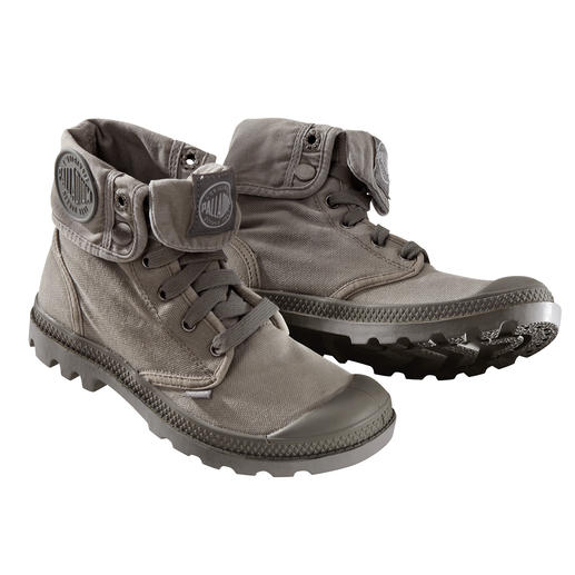 Palladium Canvas Boots Enduring design. Indestructible quality. Cult status since 1947. Now fashionable again: Palladium boots.