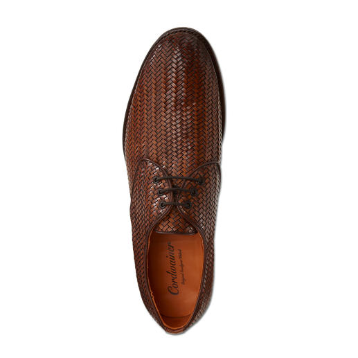 Cordwainer Braided Shoe As formal as a traditional business shoe, but much more airy. By Cordwainer, Spain.