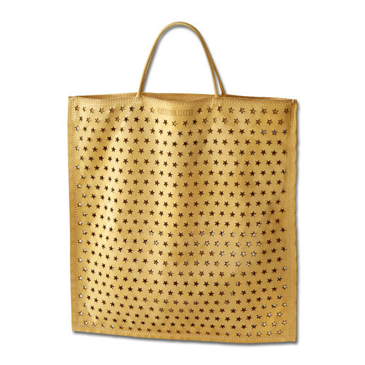 Caterina Lucchi Leather Shopping Bag A stylish alternative to canvas bags: The shopping bag made of butter-soft buffalo leather.