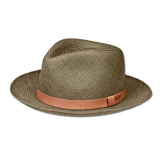 Bailey of Hollywood Straw Fedora The fedora hat of Hollywood stars. By Bailey of Hollywood. Hatmaker since 1922.