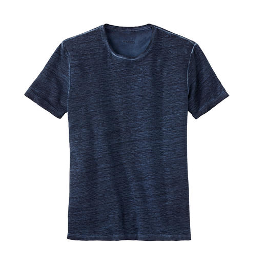 van Laack Linen T-Shirt - Your natural air conditioning on hot days: The T-shirt made of pure linen. By van Laack.