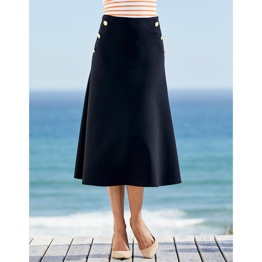 Seductive Sailor Skirt Nautical style fashion is rarely this elegant (and so affordable). Sailor skirt by Seductive.