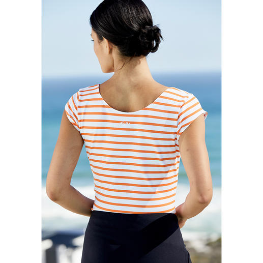 Brittany Top, Microfibre The favourite top from Saint James for over 14 years. The Brittany top made from Meryl®.
