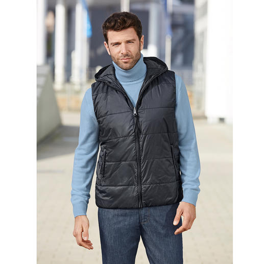 Aigle 3-in-1 All-weather Men's Jacket Wind and waterproof softshell with warm Primaloft® zip-off waistcoat. By Aigle, France.