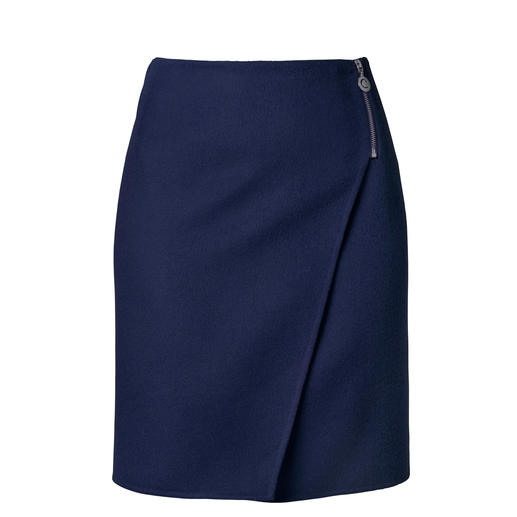 Cacharel Wrap Skirt - Rare: An elegant skirt, but so easy to wear and versa­tile that you can wear it whenever you like. By Cacharel.