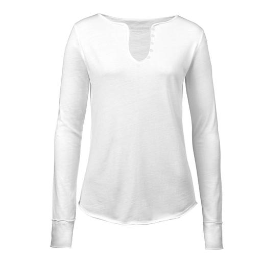 Zadig & Voltaire Signature Shirt with Long Sleeves Always appropriate and welcome everywhere: The signature shirt of the Parisian brand Zadig & Voltaire.