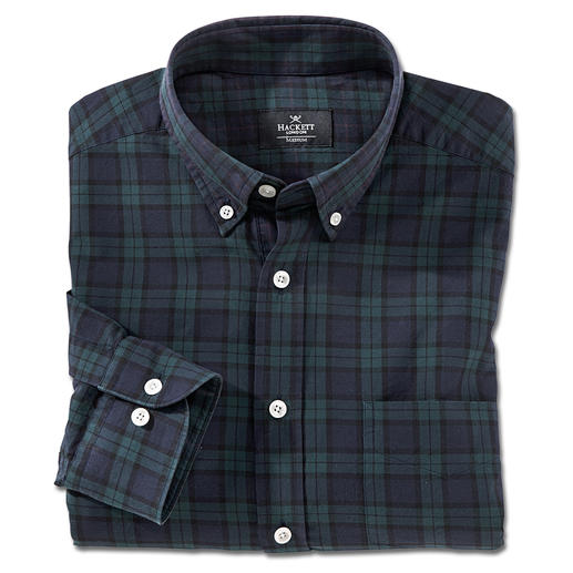 Hackett Blackwatch Tartan Shirt There are countless check patterns – but there's only one original Blackwatch tartan. By Hackett.