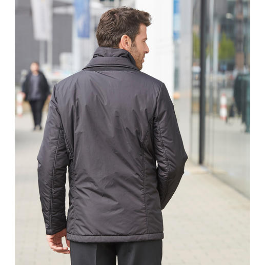 "Geox Functional Men's Jacket The ""breathable"" functional jacket – with patented ventilation system by Geox. In Italian slimline design."