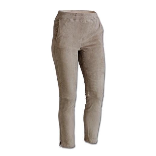 "Arma Lamb Suede ""Joggers"" Exactly the right mix of casual and feminine: ""Joggers"" made from luxury suede leather."