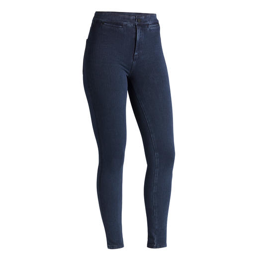 "Acynetic Knit Jeans Comfortable? Stylish? Both! By the ""Godfather of Denim"": Adriano Goldschmied."