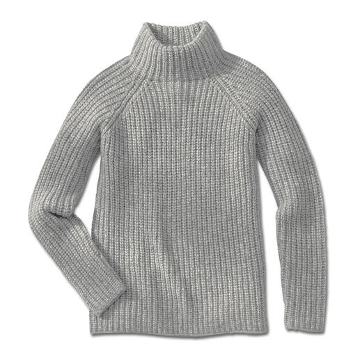 """Kero Airjet alpaca jumper It's rare that robust knit material is so light. The alpaca jumper is made from """"Airjet"""" yarn. By KERO DESIGN."""
