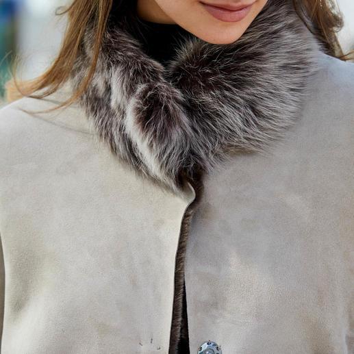 Wunderfell Lambskin Reversible Coat Today a modern teddy coat, tomorrow a timeless lambskin classic. By Wunderfell, Munich.