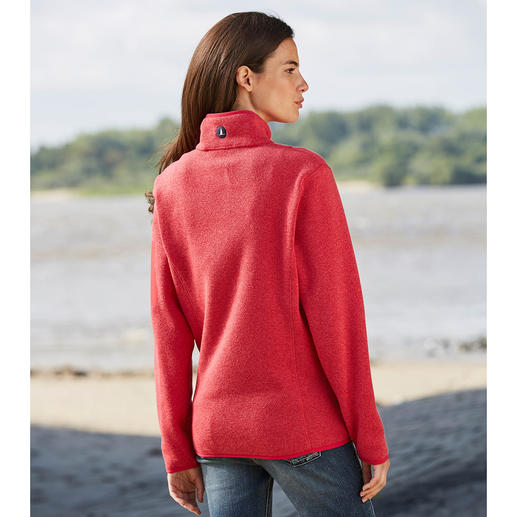 Key West Women's Merino Broadcloth Coat Wool broadcloth, as light as fleece: Made of fine and extra fine merino wool. By Key West, Copenhagen.