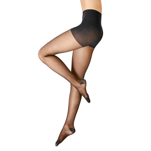 "ITEM m6 Compression Tights ""Tights Fine Translucent"" As fine and sheer as black compression tights can be. ""Tights Fine Translucent"" by ITEM m6."