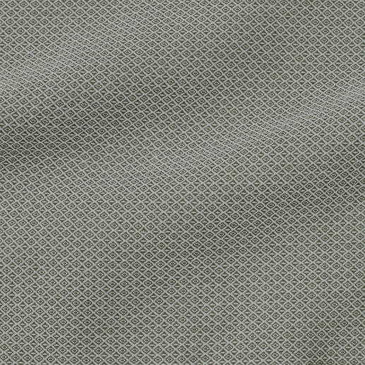 "Ingram Jacquard Shirt ""Micro Pattern"" Your perfect ""inbetween"" shirt for business and leisure. Fashionable sage green. Jacquard-woven micro pattern."