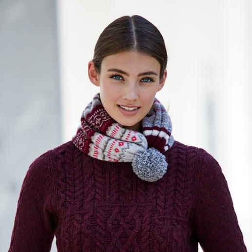 Eribé 2-in-1 Vario Scarf or Gloves Absolutely variable: Hat in the morning, scarf in the afternoon, beanie in the evening.