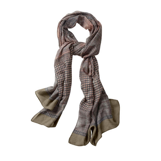 alpi Scarf Classic Patterns 2.0 Classic designs that look surprisingly modern. The mixed pattern scarf made from fine virgin wool. By alpi.