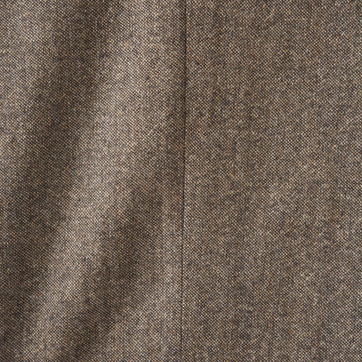 Soft Donegal Cloth Trousers Original Donegal tweed. Typical robust, burled character. Woven by Abraham Moon & Sons in England.