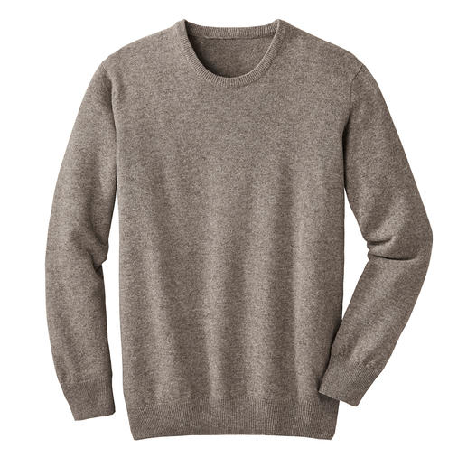 Yak Pullover - Lighter than virgin wool. Almost as soft as cashmere. And far more resilient than both.