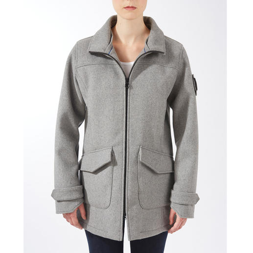 Sailors & Brides Loden Parka Parka made of high-tech felted loden. From the German sailing specialist Sailors & Brides.