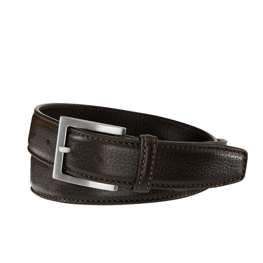 Belts Elk Leather Belt A belt made of rare elk leather. Butter-soft, supple and yet hard-wearing. Made in Italy. By Belts.