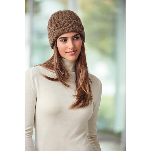 Fisherman Camel Hair Hat