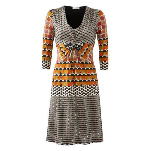 KD-Klaus Dilkrath Jersey Dress Seventies Flattering design. Suitcase-friendly material. Good price. The jersey dress by KD-Klaus Dilkrath, Düsseldorf.