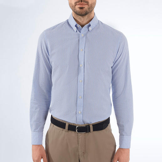 Hackett London Seersucker Shirt Airy, but never too casual: The seersucker shirt with British elegance. By Hackett London.