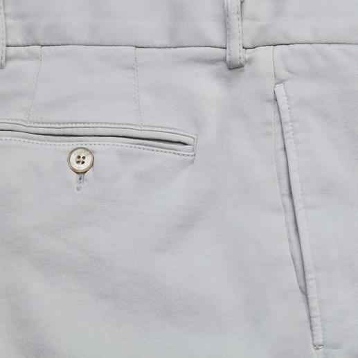Hackett Jersey Chinos Casual with a polo shirt. Smart with a shirt and blazer. But always wonderfully comfortable.