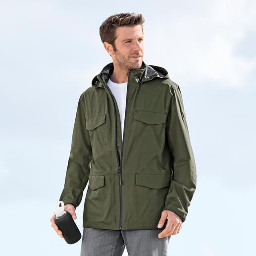 "Aigle Functional Men's Jacket ""Ultra Light"" - The featherweight functional jacket. The breathable, water and windproof 2.5-layer system from Aigle, France."
