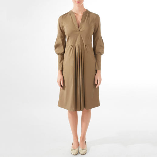 Strenesse Cotton Poplin Dress Neither boring nor too loud: The cotton poplin dress by Strenesse is fashionably perfect.