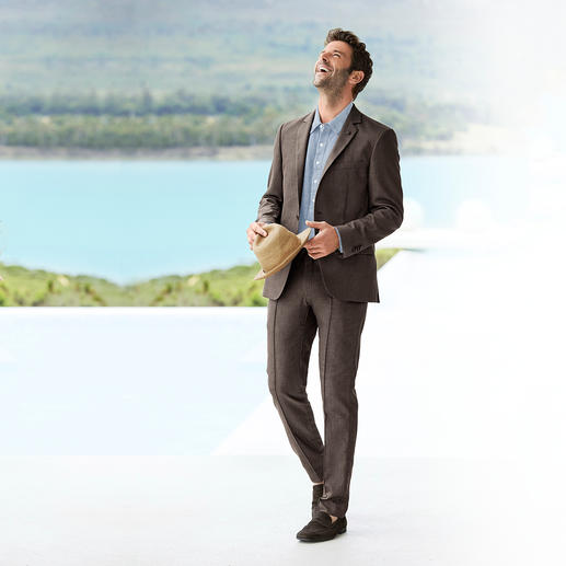 Lagerfeld Holiday Suit Jacket or Trousers - Business look with a holiday feel. The lightweight summer suit by Lagerfeld.