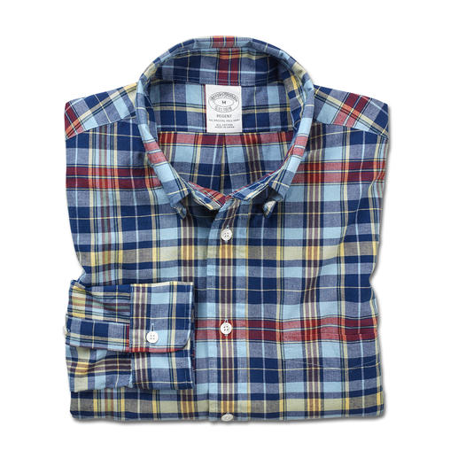 Brooks Brothers Madras Shirt Fashioned by Brooks Brothers – America's most famous men's fashion specialists for 200 years.