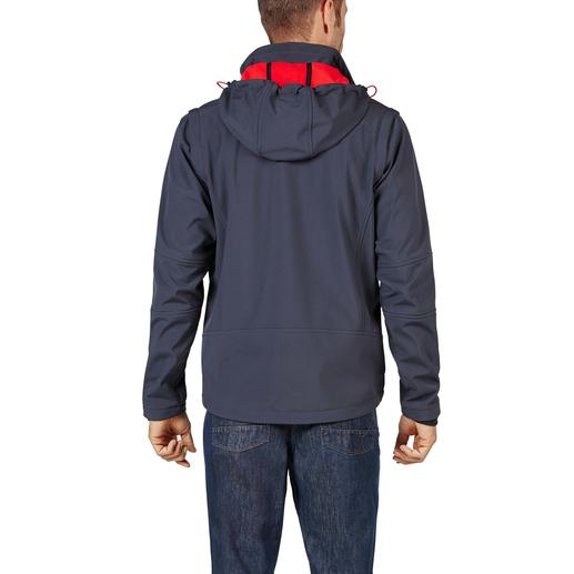 Soft Shell Jacket for Men Slim, lightweight, yet warm. Jacket made of Soft Shell, with WindProtect®.