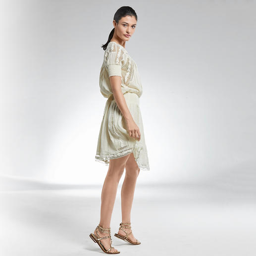 TWINSET Lace Dress Rarely is a lace dress so soft and so versatile. For a long time the signature look of TWINSET.