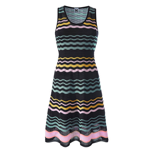 M Missoni Wave Knit Dress M Missoni's wave knit classic in contemporary summer trend colours. Perfectly fashioned, airy and lightweight.