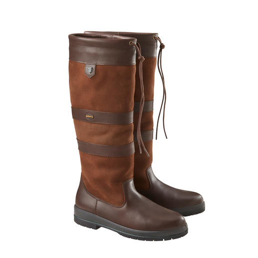 Dubarry Waterproof Leather Boots A stylish alternative to Wellingtons. Waterproof Galway boots made of genuine leather. By Dubarry of Ireland.