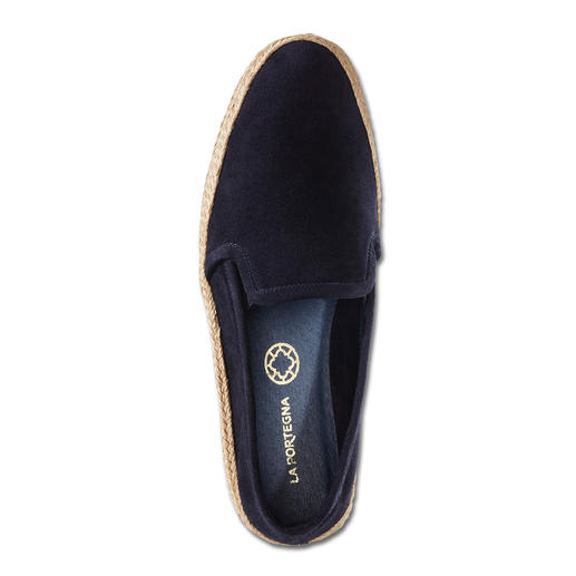 La Portegna Chic Espadrilles The casual look of espadrilles – yet much more elegant, comfortable and hard-wearing. By La Portegna.