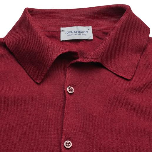 John Smedley Sea Island Polo Shirt Your most stylish polo shirt. Rare 30-gauge fine knit. The finest Sea Island cotton. By John Smedley, England.
