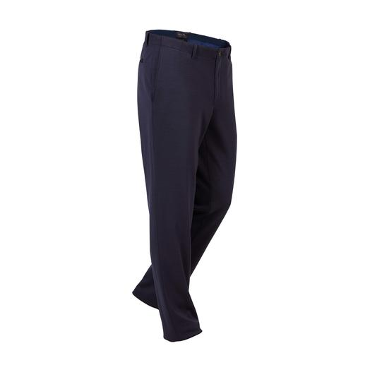 Hiltl Comfortable Cloth Trousers As smart as cloth trousers. As comfortable as tracksuit bottoms. By Hiltl, Germany.