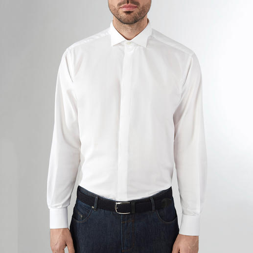 Ingram Everyday Dress Shirt With Italian flair: Ingram makes the classic dress shirt suitable for everyday wear.