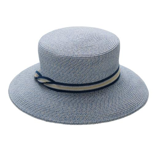 Mayser Hat Made of durable linen and hemp fibres sewn together. By Mayser, hat makers since 1800.