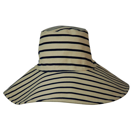 Hat Attack Reversible Floppy Hat A holiday favourite: The reversible canvas floppy hat by cult label Hat Attack, New York.